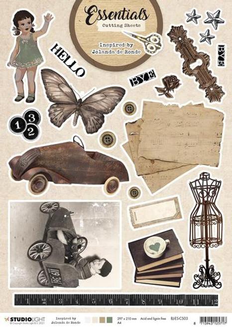 Studio Light: Cutting Sheet Essentials By Jolanda de Ronde nr. 3