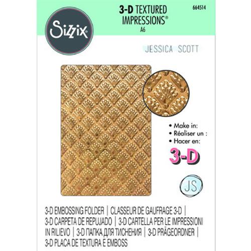 Sizzix: 3D Textured Impressions Embossing Folder - Shells