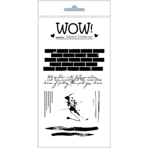 WOW!: Clear Stamp Set, Wall Art Stamp