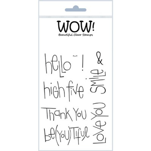 WOW!: Clear Stamp Set, Big Words
