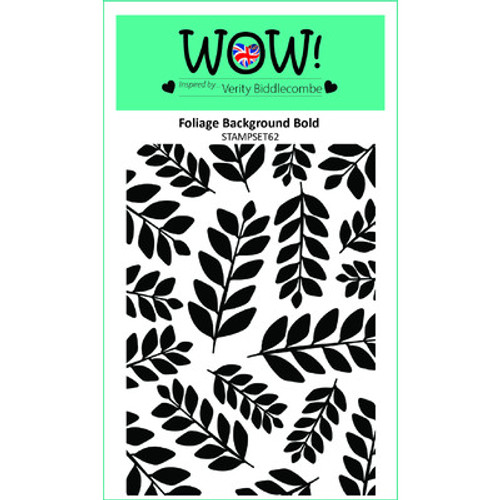 WOW!: Clear Stamp Set, Foliage Background Bold