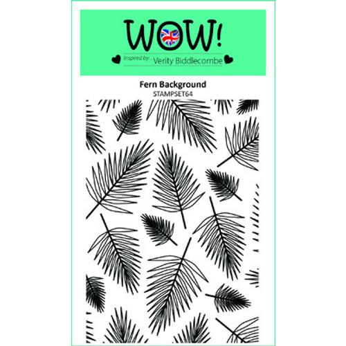 WOW!: Clear Stamp Set, Fern Background