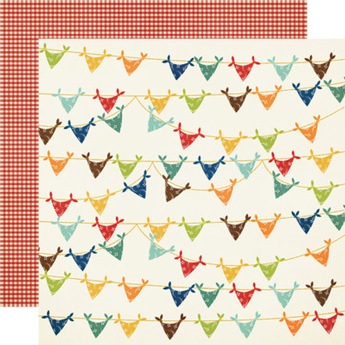 Simple Stories: 12x12 Patterned Paper, Howdy!- Yee-Haw!