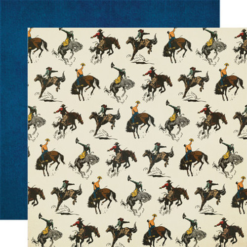 Simple Stories: 12x12 Patterned Paper, Howdy!- Let's Ride