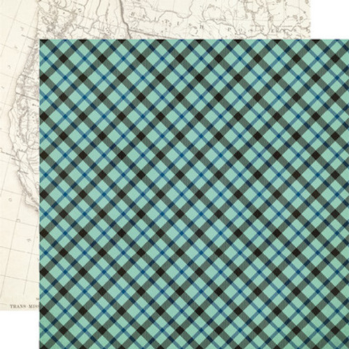 Simple Stories: 12x12 Patterned Paper, Howdy!- Out Yonder