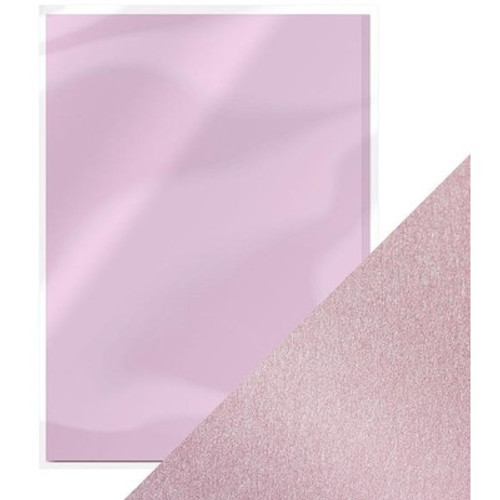 Tonic Studios: 8.5X11 Pearlescent Cardstock, Gleaming Lilac