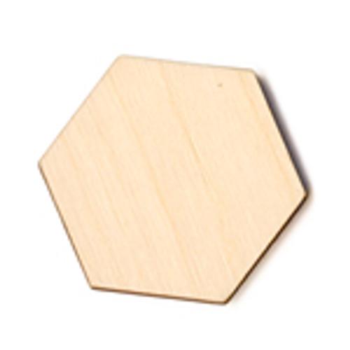 Wooden Hexagon