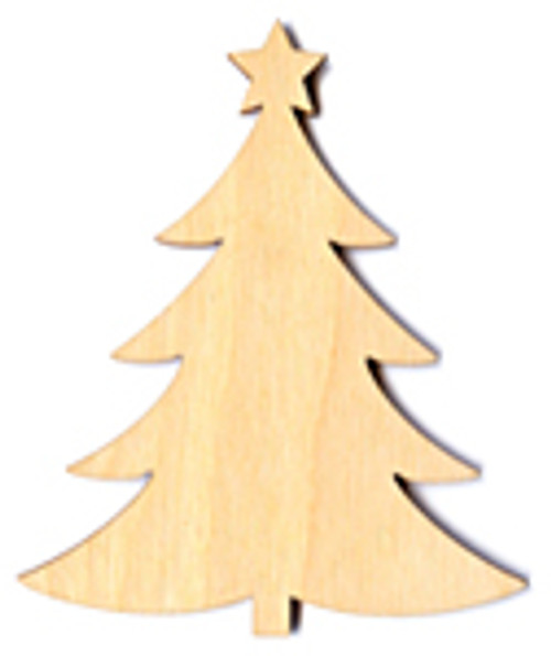 """The Paper & Ink Boutique: Laser Cut Wood Christmas Tree - 2"""""""