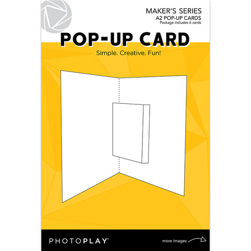 Photo Play Paper: A2 Pop Up Card