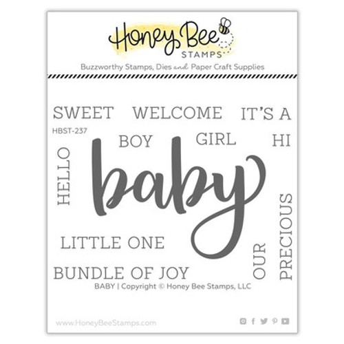 Honey Bee Stamps: Clear Stamp, Baby