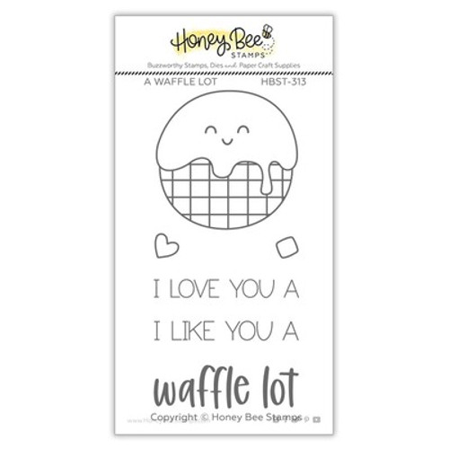 Honey Bee Stamps: Clear Stamp, A Waffle Lot