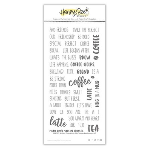 Honey Bee Stamps: Clear Stamp, Perfect Blend