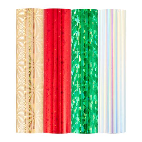 Spellbinders: Glimmer Hot Foil 4 Rolls - Shimmering Holiday