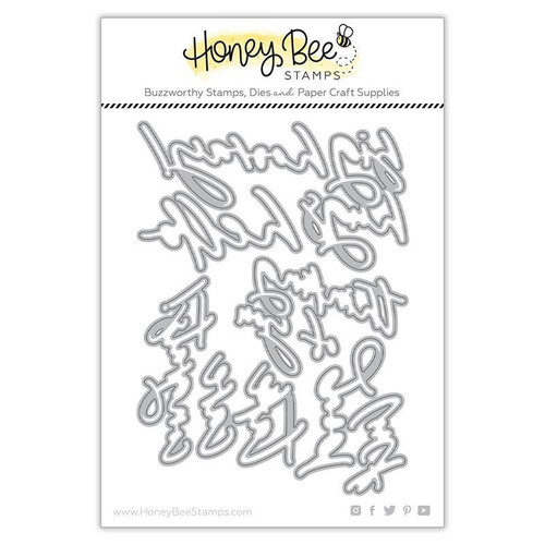 Honey Bee Stamps: Honey Cuts Die, Thinking of You Big Time