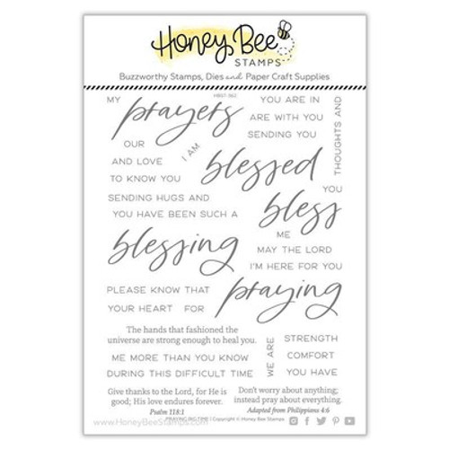 Honey Bee Stamps: Clear Stamp, Praying Big Time