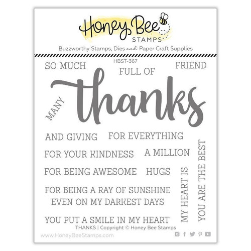 Honey Bee Stamps: Clear Stamp, Thanks