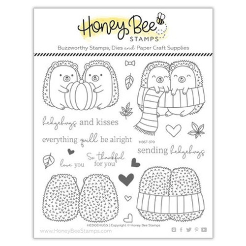 Honey Bee Stamps: Clear Stamp, Hedgehugs