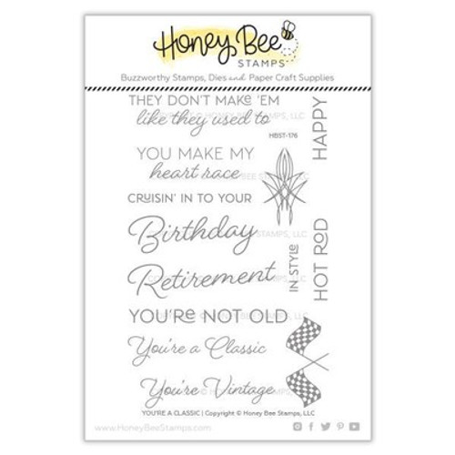 Honey Bee Stamps: Clear Stamp, You're A Classic