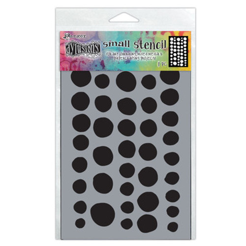 Dyan Reaveley: Dylusions Stencil, Small - Coins
