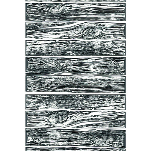 Tim Holtz: 3D Texture Fades Embossing Folder, Mini Lumber