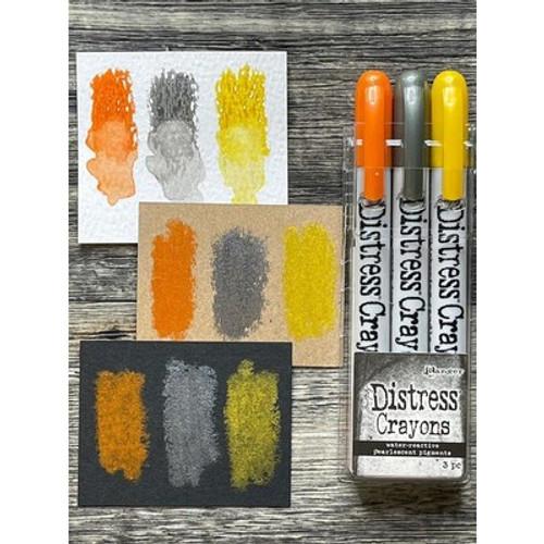 Tim Holtz: Distress Pearlescent Crayon Set, Halloween #1