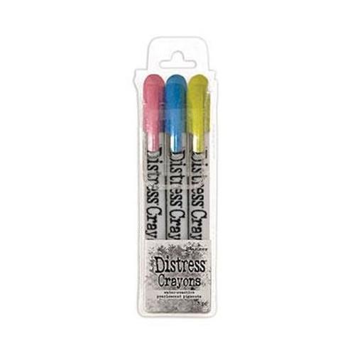 Tim Holtz: Distress Pearlescent Crayon Set, Holiday #2