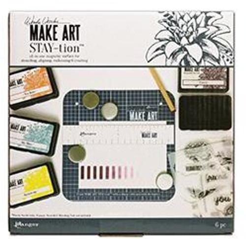 """Ranger Ink: Make Art Stay-tion, 7"""""""