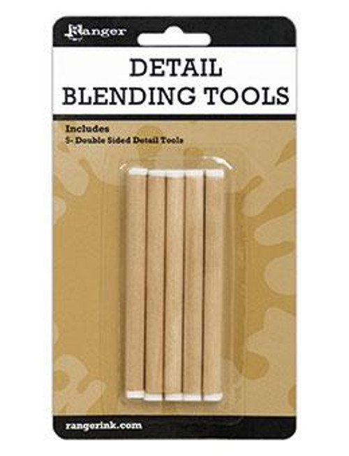 Ranger Ink:  Detail Blending Tools (Includes 5 Double Sided Tools)