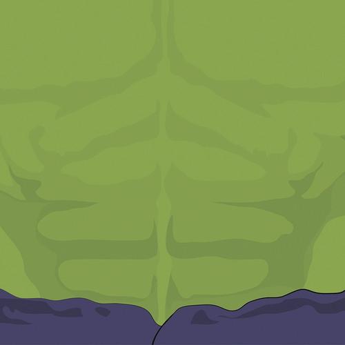 Scrap Your Trip: Hulk 12x12 Paper