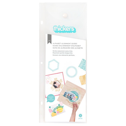 American Crafts: Thickers Alignment Guide, Circle