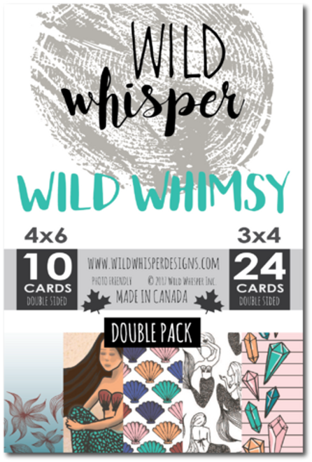Wild Whisper Designs: Wild Whimsey Card Pack - Double