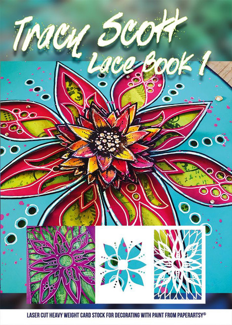 PaperArtsy: Tracy Scott Lace Booklet 1