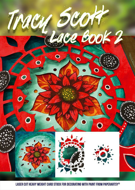 PaperArtsy: Tracy Scott Lace Booklet 2