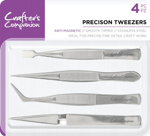 Couture Creations: Precision Tweezers - 4PC
