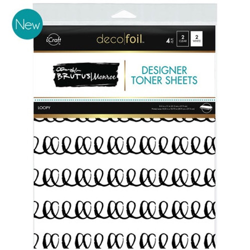 Brutus Monroe: Deco Foil Toner Sheets,  Loopy
