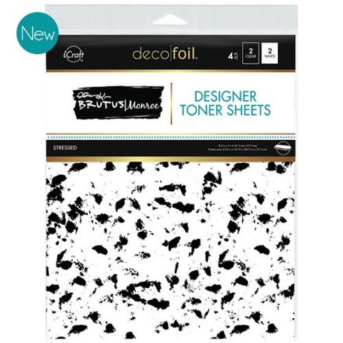 Brutus Monroe: Deco Foil Toner Sheets, Stressed