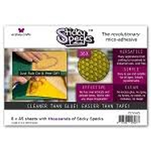 Ecstasy Crafts: Sticky Specs 4 x A4 Sheets