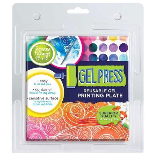 "Gel Press: Gel Plate - 12"" x 12"""