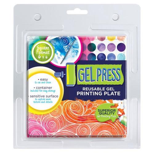 """Gel Press:  6""""x6"""""""