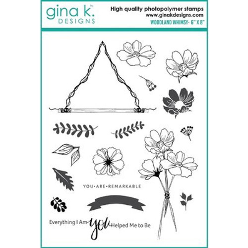 Gina K Designs: Clear Stamp, Woodland Whimsy
