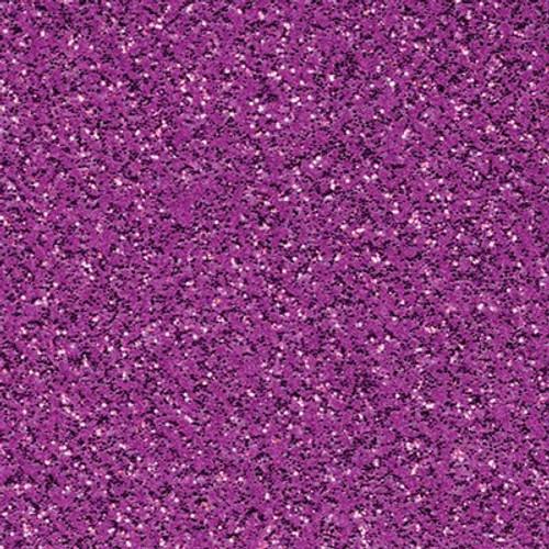 American Crafts: 12X12 Glitter Silk Cardstock - Prosperous Purple