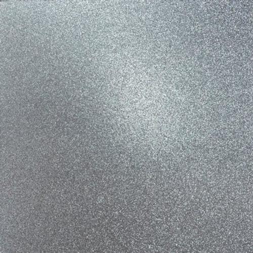 Kaisercraft: Glitter Cardstock, Steel 12x12