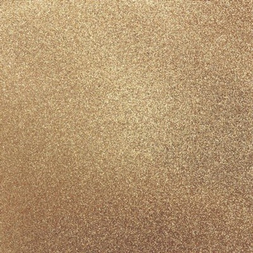 Kaisercraft: Glitter Cardstock, Bronze 12x12