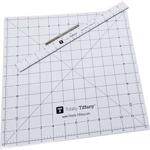 Totally Tiffany: Magnetic Design Board Overlay with Ruler