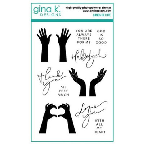 Gina K Designs: Clear Stamp, Hands of Love