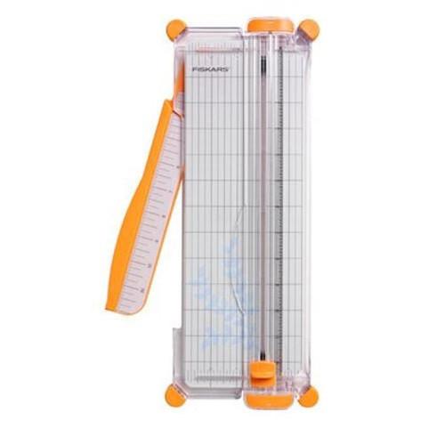 "Fiskars: Trimmer, 12"" Surecut Portable Paper Trimmer - Narrow Base"