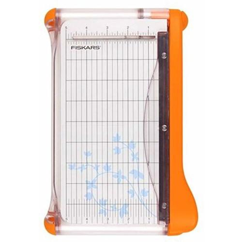 """Fiskars: Trimmer, 9"""" Surecut Portable Paper Trimmer - Wide Base"""