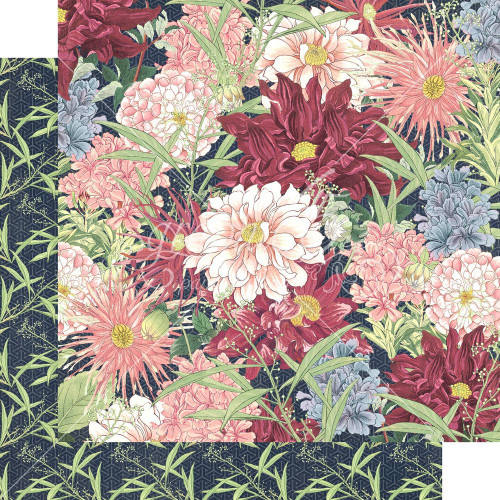 Graphic 45: 12X12 Patterned Paper, Blossom