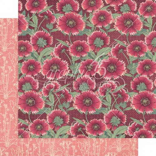 Graphic 45: 12X12 Patterned Paper, Blossom - Thrive