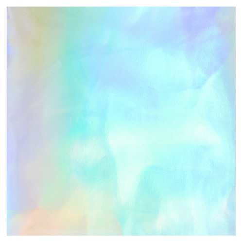 Bazzill Basics: 12X12 Foil Board, Rainbow Holographic